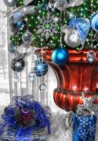 gifts, christmas tree, christmas tree decorations