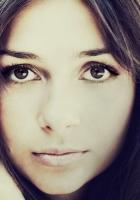 girl, brown-eyed, face