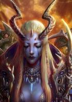 girl, demon, creatures