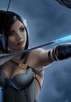 girl, elf, arrow