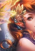 girl, elf, hair