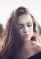 girl, eyes, brunette