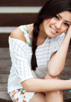 girl, face, smiling