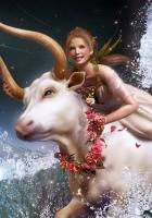 girl, goat, zodiac