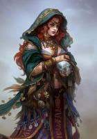 girl, gypsy, witch