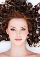girl, hair, white