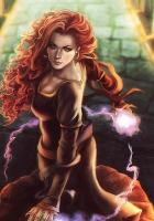 girl, magic, balls