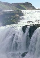gold falls, iceland, stream