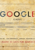 google, classic, old