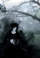 gothic, dark, girl