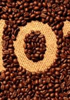 grains, coffee, inscription