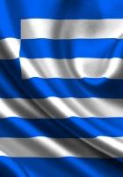 greece, satin, flag