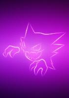 grin, pokemon, purple
