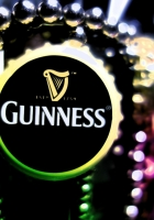 guinness, beer, light