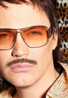 gunther, glasses, mustache