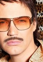 gunther, glasses, mustache