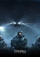 halo wars, soldiers, airships