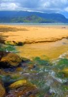 hawaii, day, sea