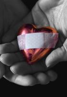 heart, hands, pink