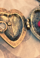 heart, pendant, necklace