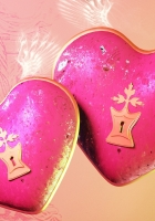 heart, pink, gift
