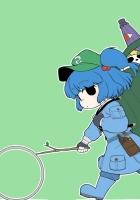hong meiling, kawashiro nitori, girl