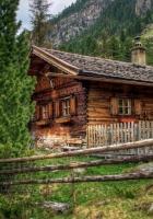 house, austria, alps