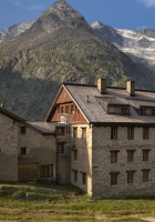 house, mountains, hotel