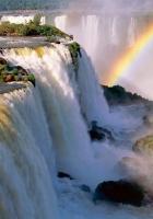 iguassu falls, argentina, rainbow
