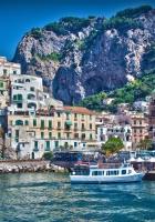 italy, city, amalfi