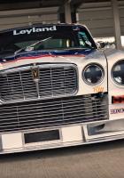 jaguar, white, front