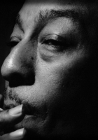 johny hodges, cigarette, face