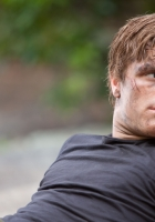josh hutcherson, brunette, dirty