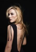 kate winslet, dress, dark background