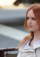 kaylee defer, red hair, eyes