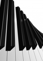 keys, music, black