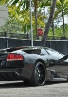 lamborghini, black, auto