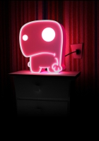 lamp, figurine, light
