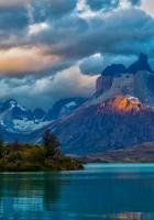 landscape, argentina, mountain