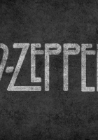 led zepplin, letters, background