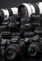 lens, white, blue