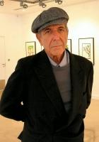 leonard cohen, exhibition, pictures