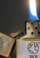 lighter, metal, fire