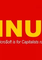linux, red, yellow