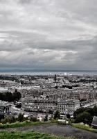 london, buildings, top view