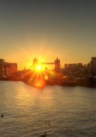 london, england, dawn
