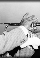 louis armstrong, pipe, jacket