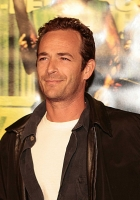 luke perry, brunette, celebrity