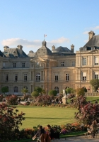 luxembourg palace, paris, people