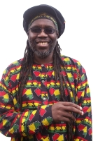 macka b, dreadlocks, smile